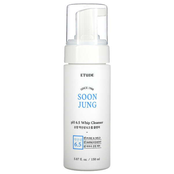Soon Jung, pH 6.5 Whip Cleanser, 5.07 fl oz (150 ml)