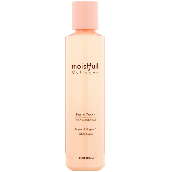 Etude House, Moistfull Collagen, Facial Toner, White Lupin, 6.76 fl oz (200 ml)