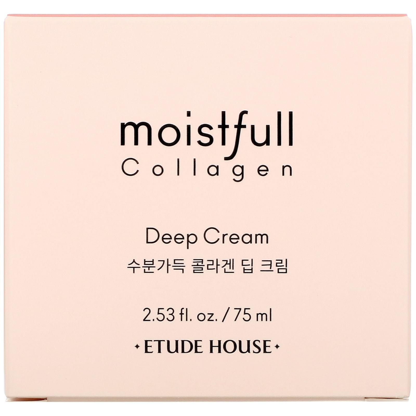 Etude House, Moistfull Collagen, Deep Cream, 2.53 fl oz (75 ml)