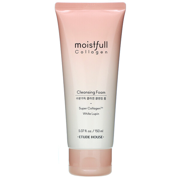 Moistfull Collagen, Cleansing Foam, White Lupin, 5.07 fl oz (150 ml)