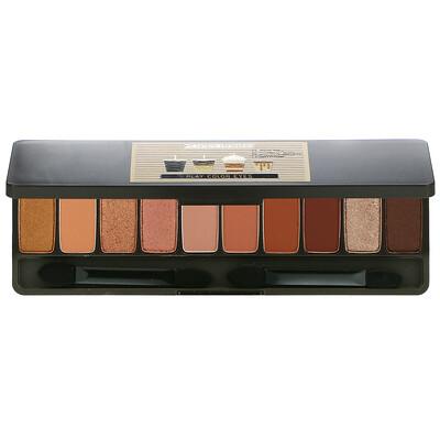 Etude Play Color Eyes, 10-Color Eye Shadow Palette, Caffeine Holic, 0.02 oz (0.8 g) Each