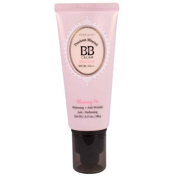Etude House, Precious Mineral BB Cream Blooming Fit, Natural Beige W13, 2.11 oz (60 g) (Discontinued Item)