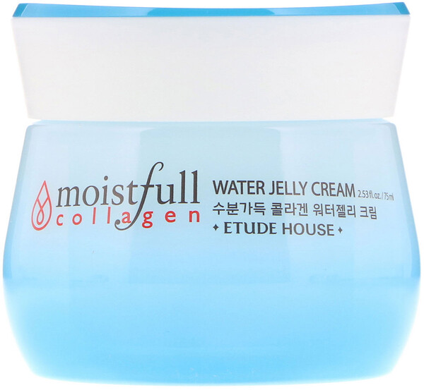 Etude House, Moistfull Collagen, Water Jelly Cream, 2.53 fl oz (75 ml) (Discontinued Item)