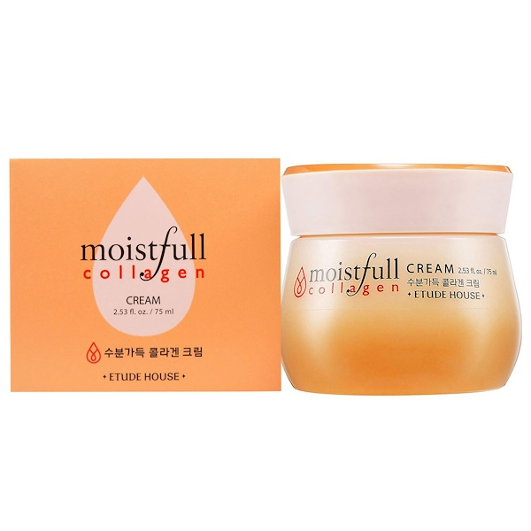 Etude House, Moistfull Collagen, Cream, 2.53 fl oz (75 ml)