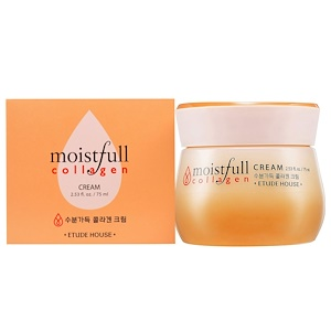 Этюд Хаус, Moistfull Collagen, Cream, 2.53 fl oz (75 ml) отзывы покупателей