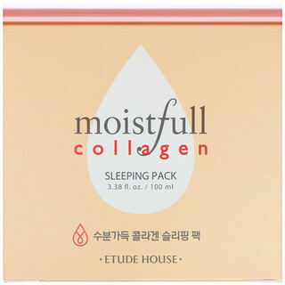 Etude House, Moistfull Collagen Schlafpackung, 100ml