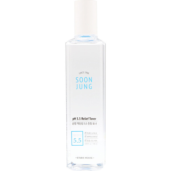 Etude House, Soon Jung, pH 5.5 Lotion tonique réparatrice, 180 ml (6.08 fl oz)