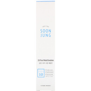 Etude House, Soon Jung, 10-Free Moist Emulsion, 4.05 fl oz (120 ml)