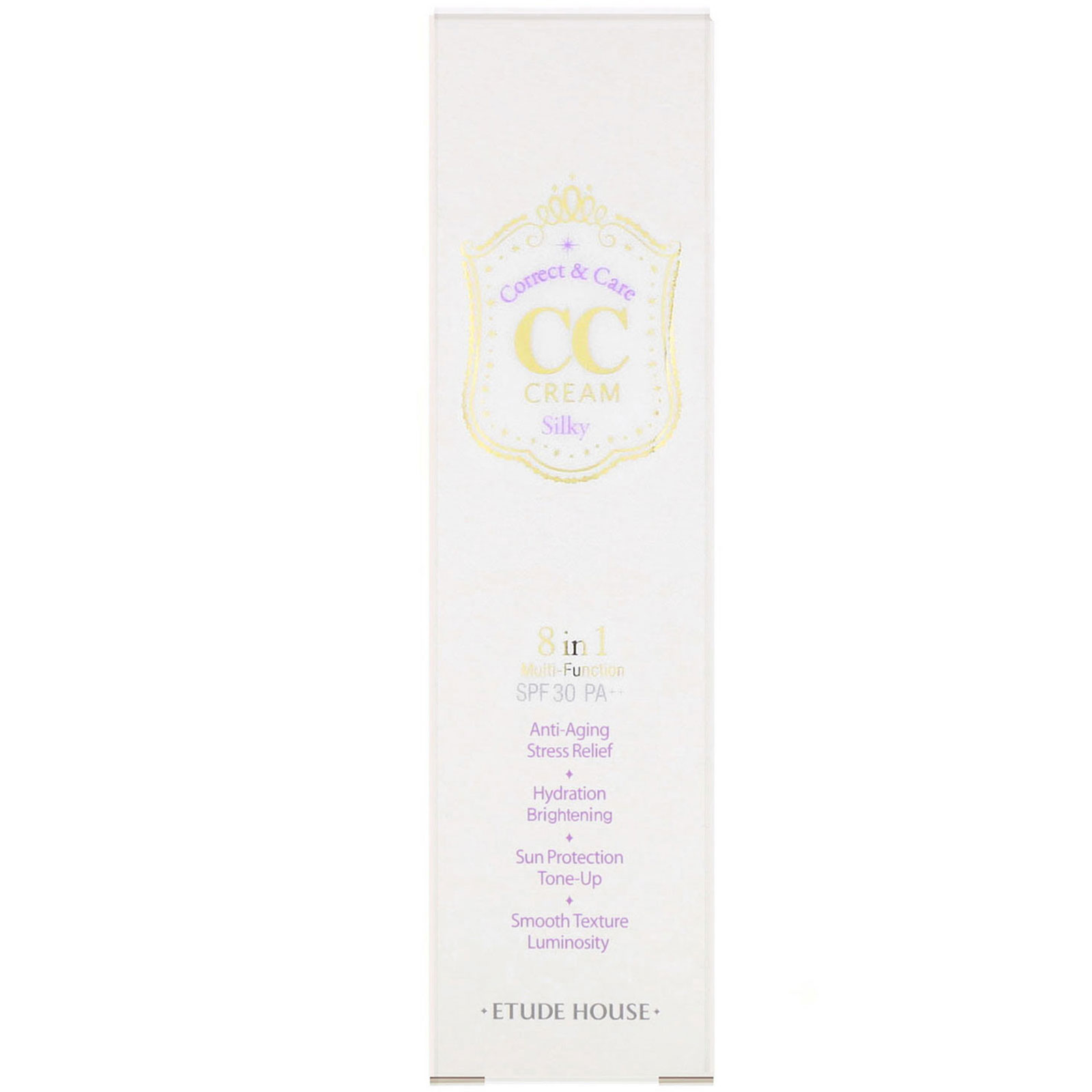 Etude House, Correct & Care CC Cream SPF 30/PA++, Silky, 1 23 oz (35 g)