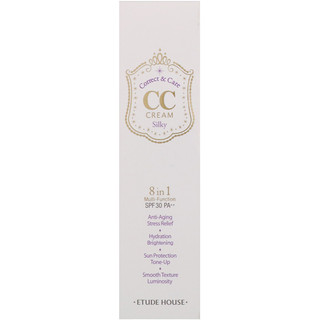 Etude House, Correct & Care CC Cream SPF 30/PA++, Silky, 1.23 oz (35 g)