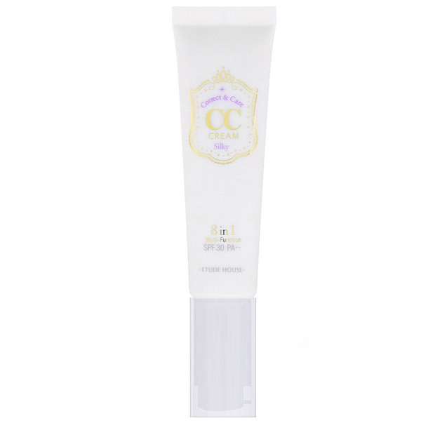 Etude House, Correct & Care CC Cream, SPF 30 PA++, Silky, 1.23 oz (35 g) (Discontinued Item)