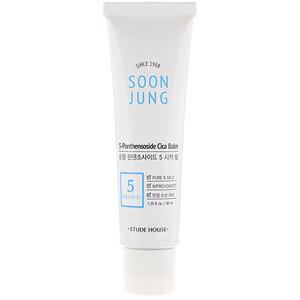Этюд Хаус, Soon Jung, 5-Panthensoside Cica Balm, 1.35 fl oz (40 ml) отзывы