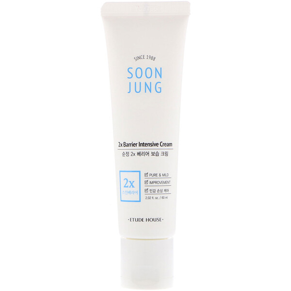 Soon Jung, 2x Barrier Intensive Cream, 2.02 fl oz (60 ml)