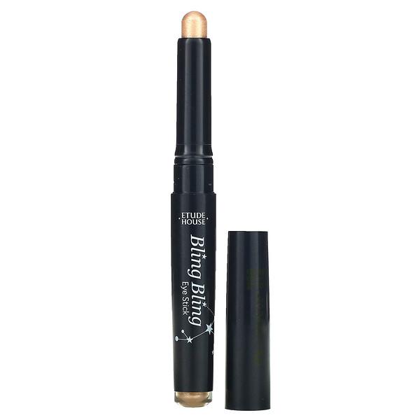 Bling Bling Eye Stick, Golden Tail Star #09, 0.04 oz (1.4 g)