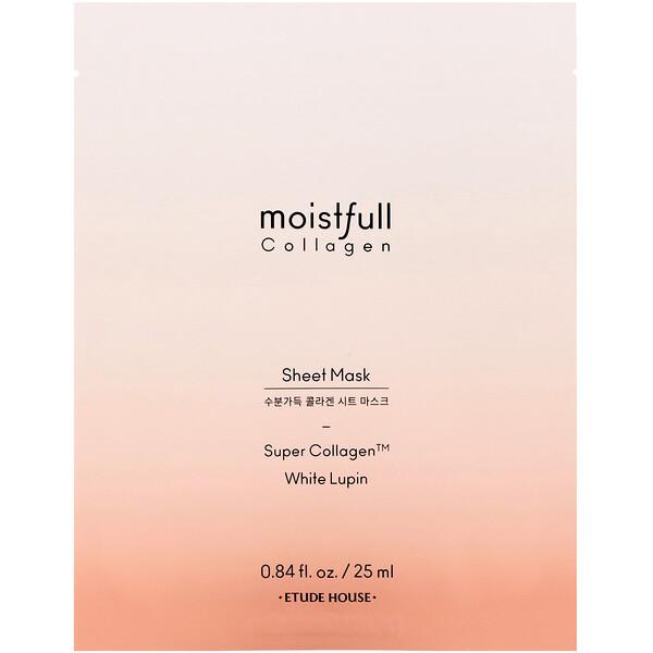 Moistfull Collagen, Sheet Mask, 1 Sheet, 0.84 fl oz (25 ml)