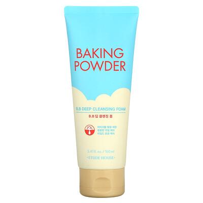 Etude House Baking Powder, B.B Deep Cleansing Foam, 5.41 fl oz (160 ml)
