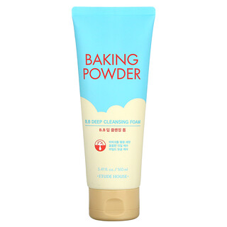 Etude, Baking Powder, B.B Deep Cleansing Foam, 5.41 fl oz (160 ml)