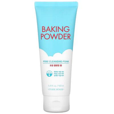 Etude House Baking Powder, Pore Cleansing Foam, 5.41 fl oz (160 ml)