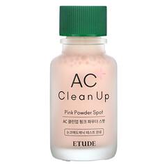 Etude, AC Clean Up,粉色祛痘粉末,0.5 液量盎司(15 毫升)