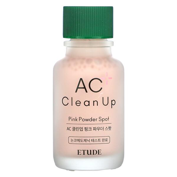 AC Clean Up,粉色祛痘粉末,0.5 液量盎司(15 毫升)