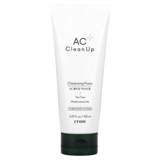 Etude, AC Clean Up, Cleansing Foam, 5.07 fl oz (150 ml)