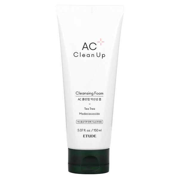 AC Clean Up, Cleansing Foam, 5.07 fl oz (150 ml)