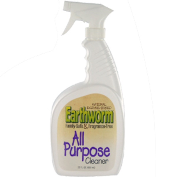 Earthworm, All Purpose Cleaner, 22 fl oz (650 ml) (Discontinued Item)