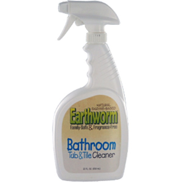 Earthworm, Bathroom Tub & Tile Cleaner, 22 fl oz (650 ml) (Discontinued Item)
