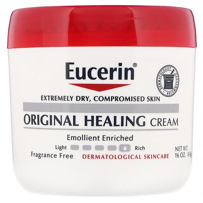 Купить Оригинальный заживляющий крем для очень сухой и поврежденной кожи, без отдушек, 454г (16унций)