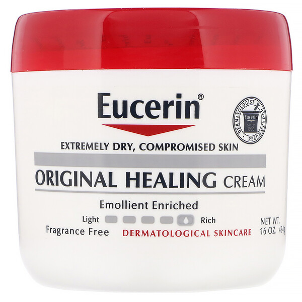 Original Healing Cream, For Extremely Dry, Compromised Skin, Fragrance Free, 16 oz (454 g)