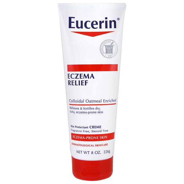 Eczema Relief Body Cream, Eczema-Prone Skin, Fragrance Free, 8.0 oz (226 g)