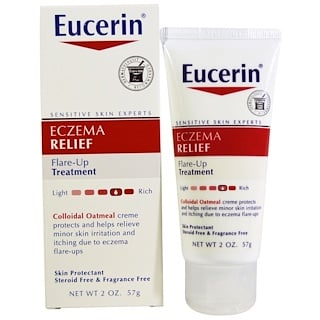 Eucerin, Eczema Relief, Flare-Up Treatment, 2 oz (57 g)