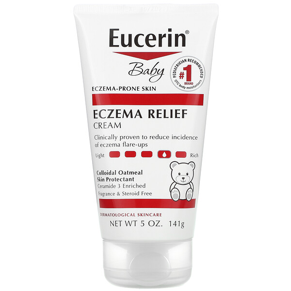 Baby, Eczema Relief Cream, 5 oz (141 g)