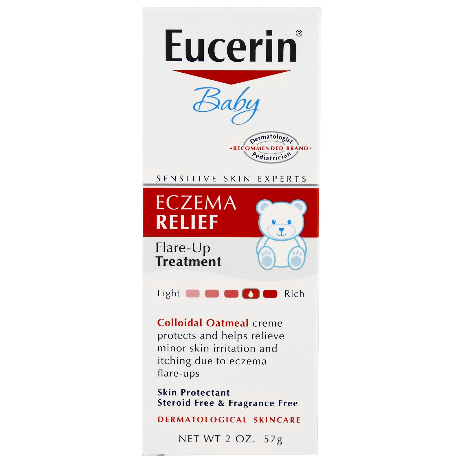 Eucerin Baby Eczema Relief Flare Up Treatment