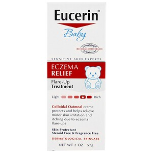 Eucerin, Eczema Relief for Baby, Instant Therapy Creme, 2.0 oz
