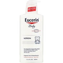 Eucerin, Baby, Lotion, Fragrance Free, 13.5 fl oz (400 ml)