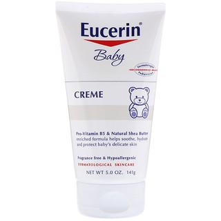 Eucerin, Baby, Creme, 5 oz (141 g)