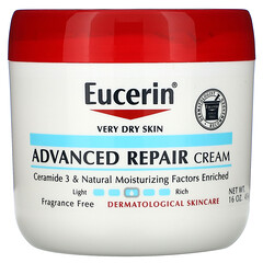 Eucerin, 高級修復霜,無香料,16 盎司(454 克)