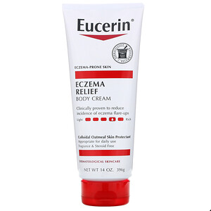 Юцерин, Eczema Relief, Body Cream, Fragrance Free, 14 oz (396 g) отзывы