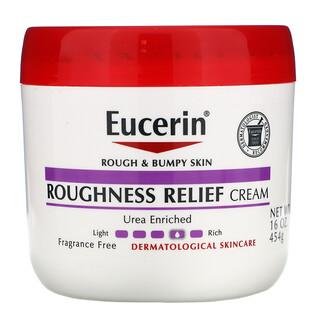 Eucerin, Roughness Relief Cream, Fragrance Free, 16 oz (454 g)