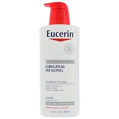 Eucerin, Original Healing Lotion, 16.9 fl oz (500 ml)