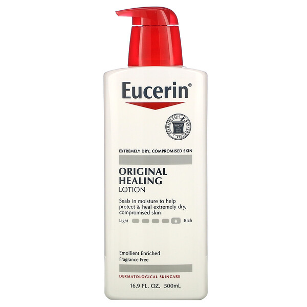 Eucerin, Original Healing Lotion, 16.9 fl oz (500 ml)