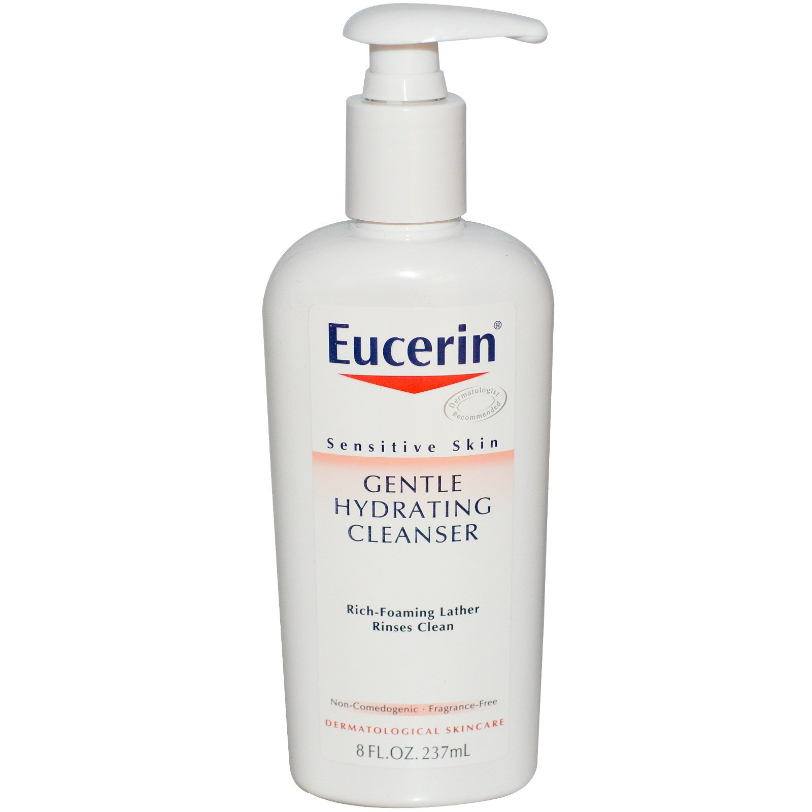 Eucerin Gentle Hydrating Cleanser Fragrance Free 8 Fl Oz 237 Ml Cetaphil Skin 500