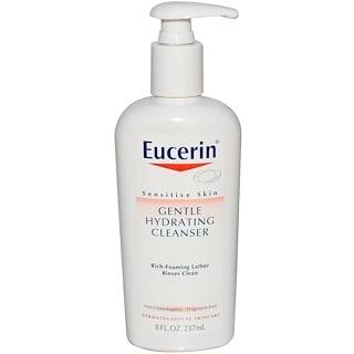 Eucerin, Limpiador hidratante suave, libre de fragancia, 8 fl oz (237 ml)
