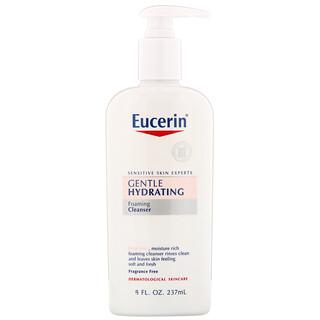 Eucerin, Gentle Hydrating Cleanser, Fragrance Free, 8 fl oz (237 ml)