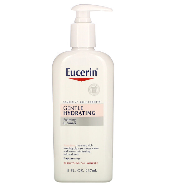 Gentle Hydrating Cleanser, Fragrance Free, 8 fl oz (237 ml)