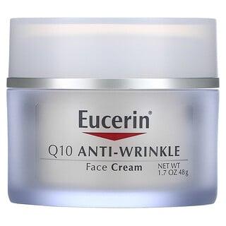 Eucerin, Q10アンチリンクルフェイスクリーム、48g(1.7オンス)