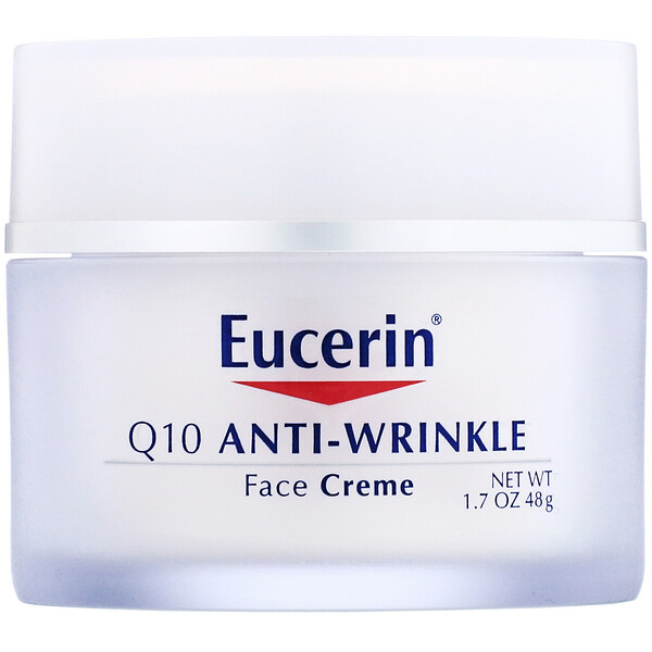 Eucerin, Q10 Anti-Wrinkle Face Creme, 1.7 oz (48 g)