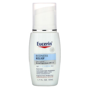 Юцерин, Redness Relief, Daily Perfecting Lotion SPF 15, Fragrance Free, 1.7 fl oz (50 ml) отзывы покупателей