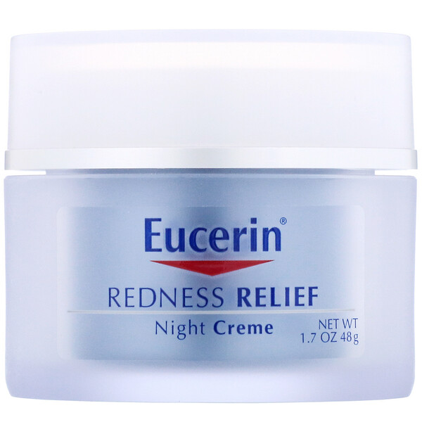 Redness Relief, Dermatological Skincare, Night Creme, 1.7 oz (48 g)